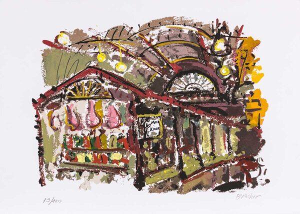030 - Carlos Bracher - 50x70cm - Serigrafia (3)