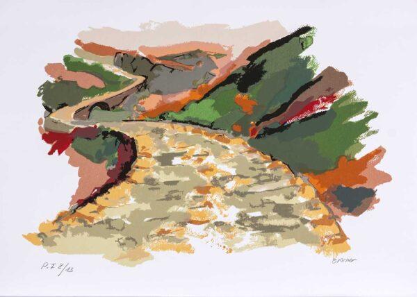 033 - Carlos Bracher - 50x70cm - Serigrafia (6)