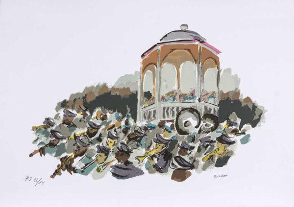 035 - Carlos Bracher - 50x70cm - Serigrafia (8)