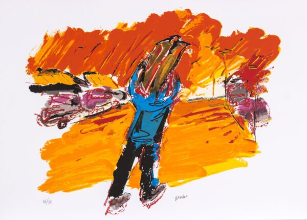 038 - Carlos Bracher - 50x70cm - Serigrafia
