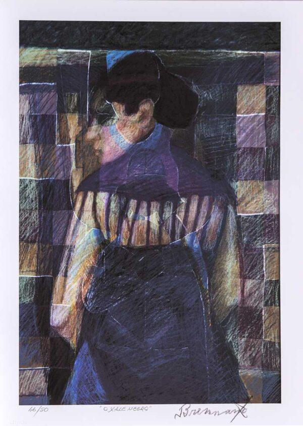 166 - Francisco Brennand - 50x70cm - Fineart - ano 2015 - Tiragem 50 (9)