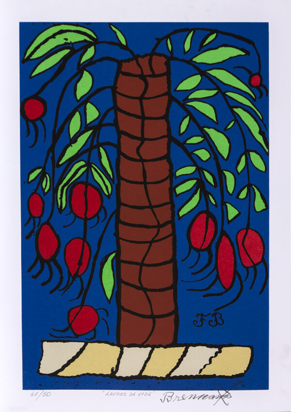 167 - Francisco Brennand - 50x70cm - Serigrafia - ano 2015 - Tiragem 50 (10)