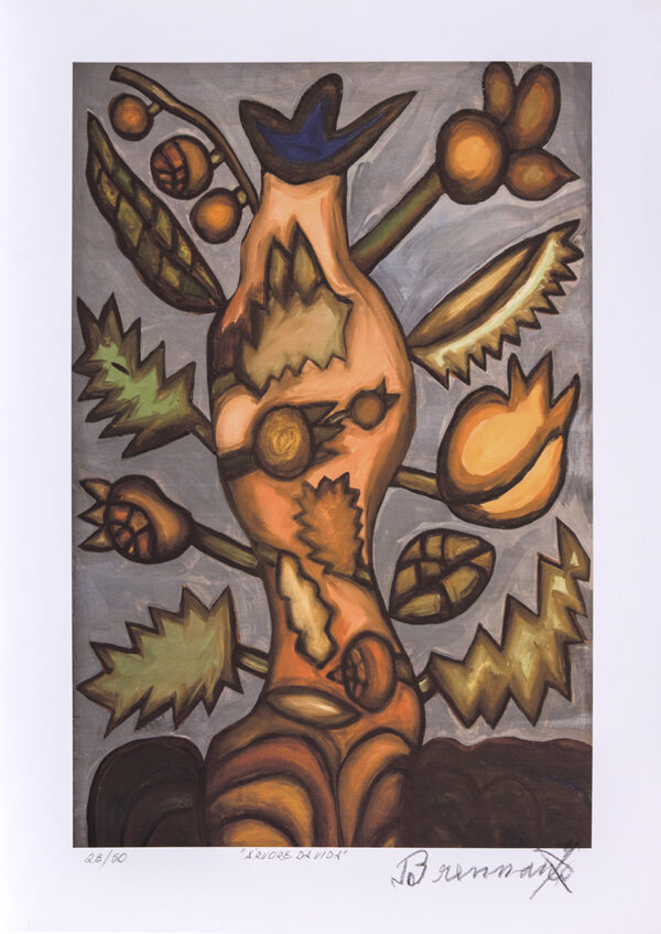 168 - Francisco Brennand - 50x70cm - Fineart - ano 2015 - Tiragem 50 (8)
