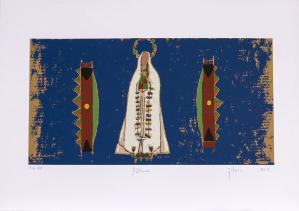 174 - Francisco Galeno - 50x70cm - Serigrafia - ano 2014 - tiragem 100 (2)