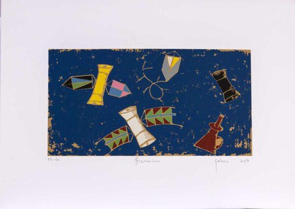 175 - Francisco Galeno - 50x70cm - Serigrafia - ano 2014 - tiragem 100 (3)