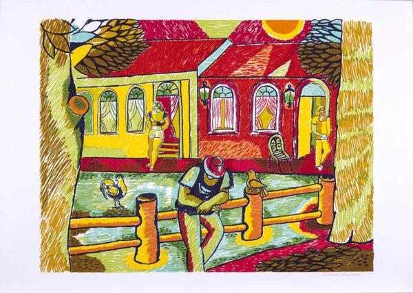 182 - Heraldo Pedreira - 48x66cm - Serigrafia - ano 2005 - Tiragem 100 (3)