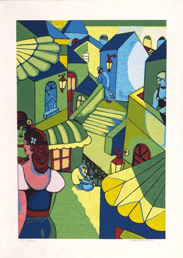 183 - Heraldo Pedreira - 48x66cm - Serigrafia - ano 2005 - Tiragem 100 (5)