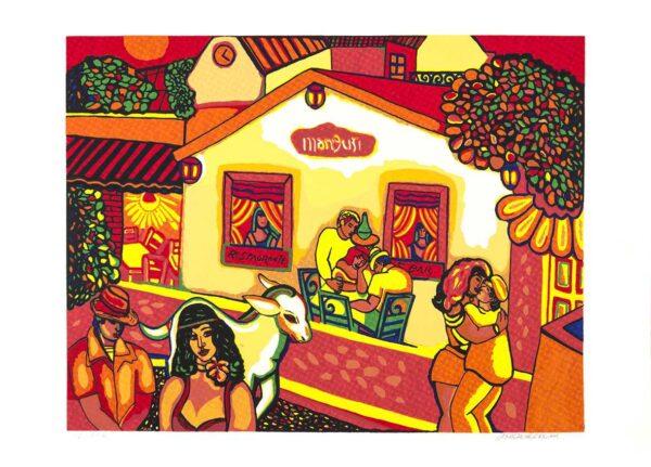 184 - Heraldo Pedreira - 48x66cm - Serigrafia - ano 2005 - Tiragem 100 (4)