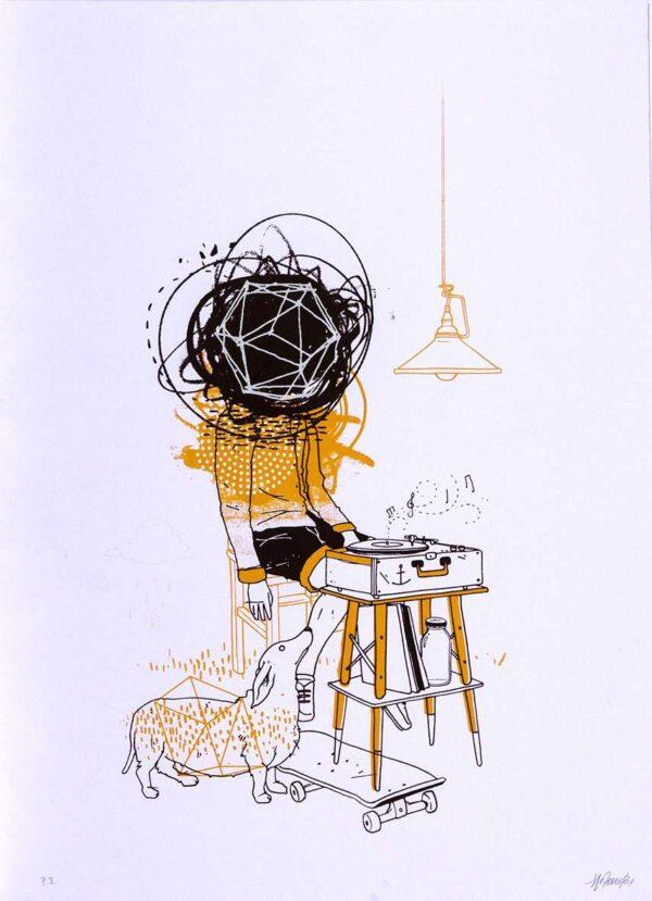 280 - Mateu Velasco - 48x66cm - Serigrafia - Ano 2013 - Tiragem 20 (1)