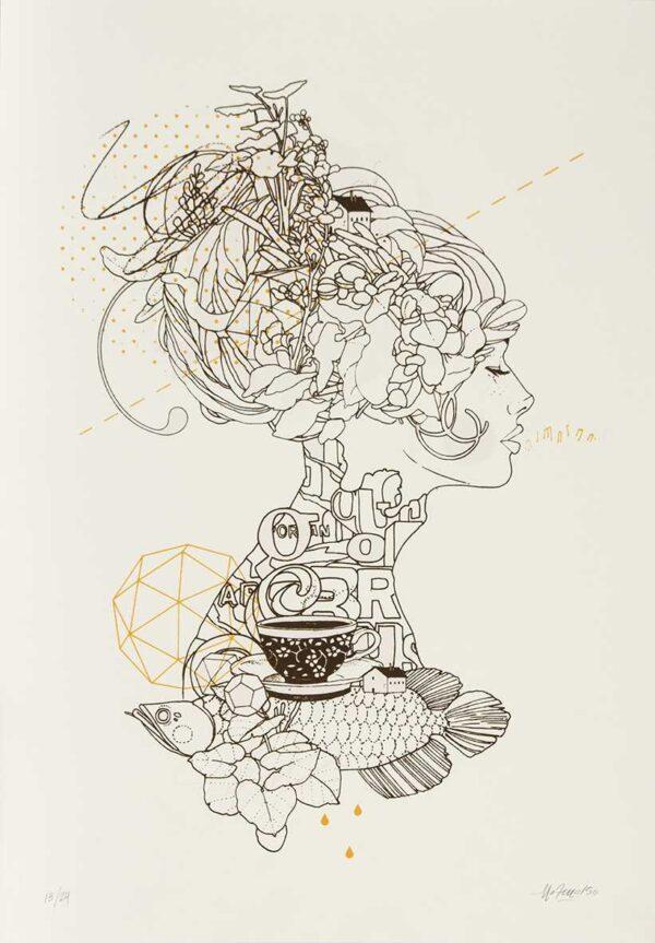 282 - Mateu Velasco - 60x42cm - Serigrafia - 2015 -