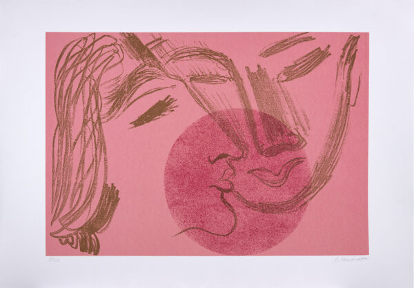 367 - RUBENS GERCHMAN - 100x70cm -Serigrafia - Tiragem 50 - (4)