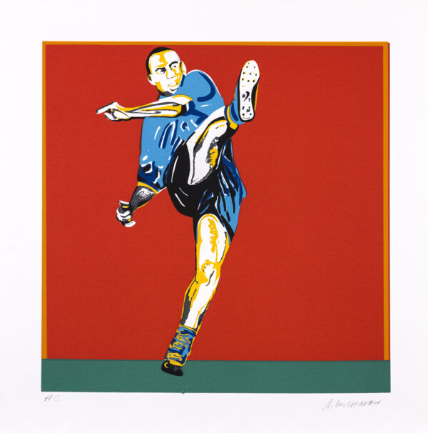 373 - Rubens Gerchman - 50x50cm - Serigrafia