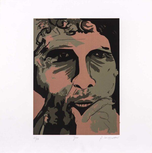 374 - Rubens Gerchman - 50x50cm - Serigrafia