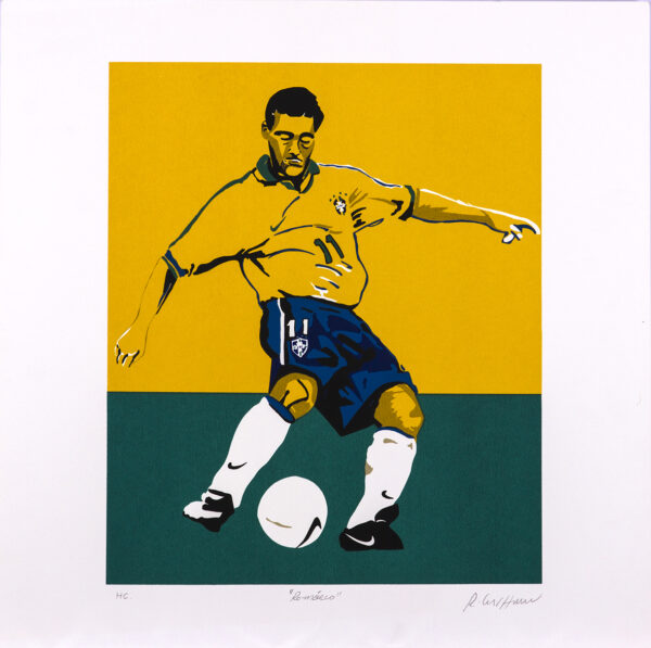 375 - Rubens Gerchman - 50x50cm - Serigrafia