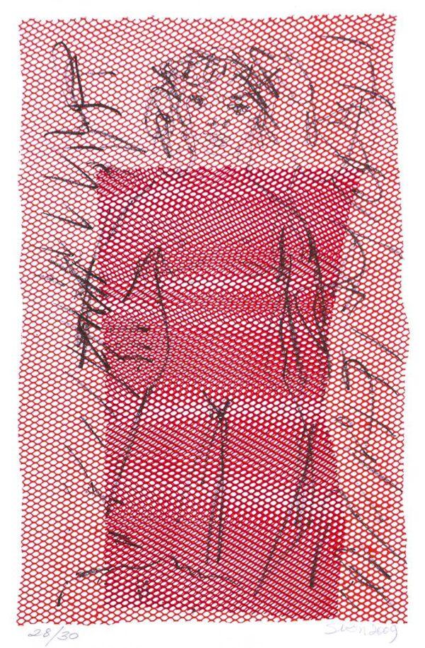 384 - Siron Franco - 30x40cm - Serigrafia e Litografia