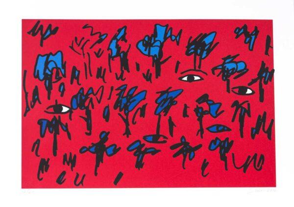391- Siron serigrafia - 50x70cm - 60 exemplares ano 2016