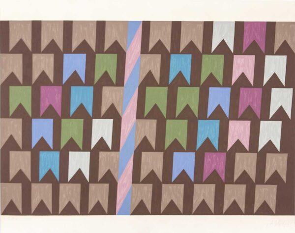 406 - Volpi - 72x60cm - serigrafia - Tiragem 150