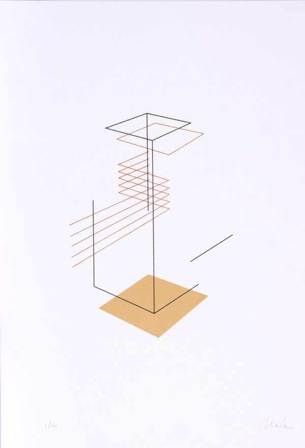 421 - Waltecio Caldas - 50x35cm - Serigrafia e Fineart - Ano 2014 - Tiragem 60 (1)