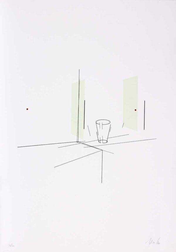 424 - Waltecio Caldas - 50x70cm - Serigrafia - Tiragem 60 (2)