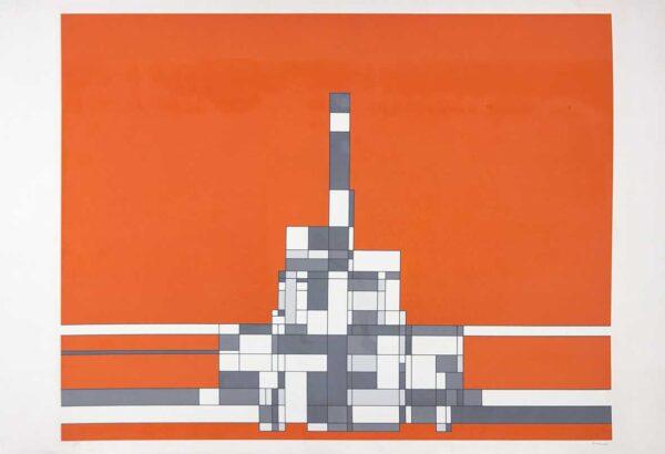 433 - Milton da Costa - 65x95cm - Serigrafia - tiragem 100 (7)