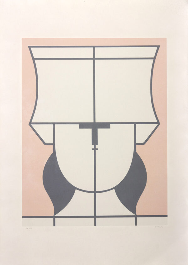 436 - Milton da Costa - 48x66cm - Serigrafia - tiragem 100 (2)