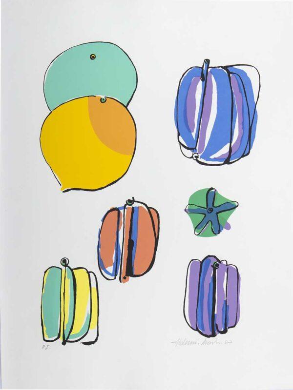 497 - Aldemir Martins - 50x70cm - Serigrafia - Tiragem 100 (2)