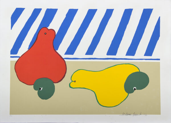 498 - Aldemir Martins - 50x70cm - Serigrafia - Tiragem 100 (3)