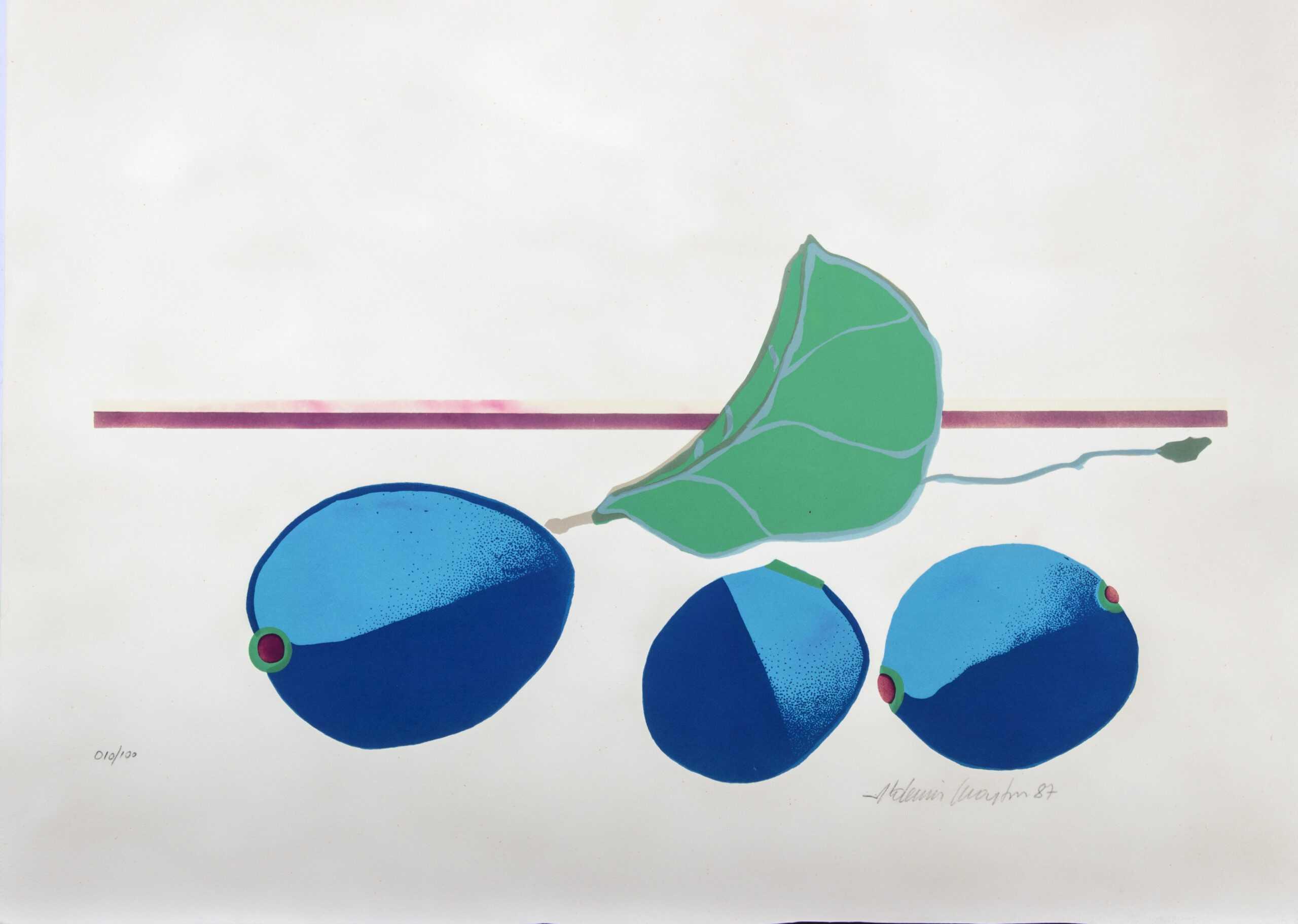 500 - Aldemir Martins - 50x70cm - Serigrafia - Tiragem 100 (5)