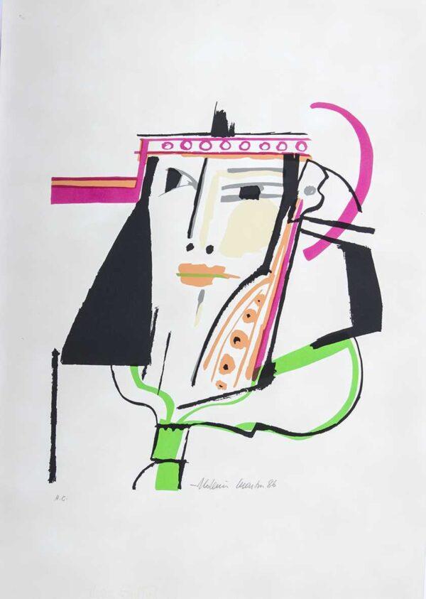 501 - Aldemir Martins - 50x70cm - Serigrafia - Tiragem 100 (6)