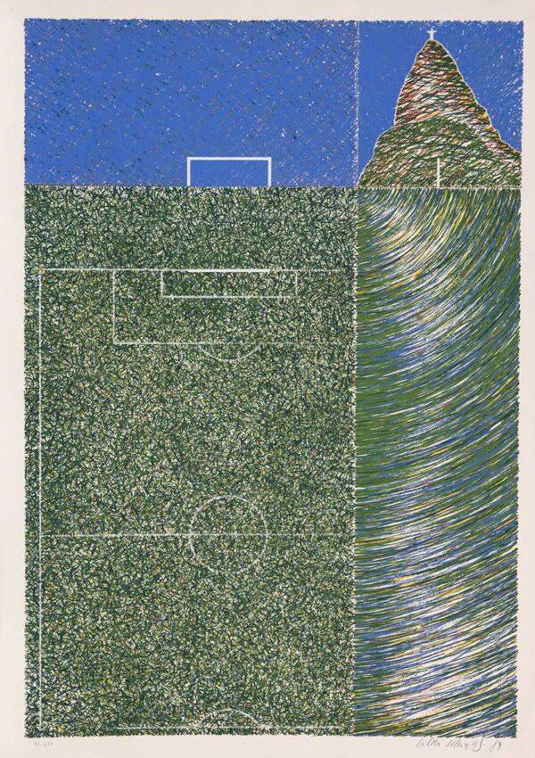 555 - Cildo Meireles - 50x70cm - Serigrafia - ano 2009 - tiragem 100
