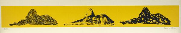 616 - Marcus Claussem - 13x66cm - Serigrafia