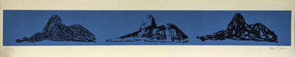 617 - Marcus Claussem - 13x66cm - Serigrafia