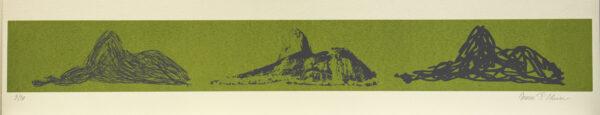 618 - Marcus Claussem - 13x66cm - Serigrafia