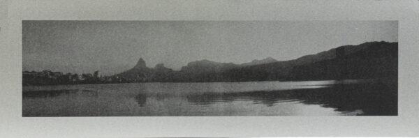620 - Marcus Claussem - 13x40cm - Serigrafia