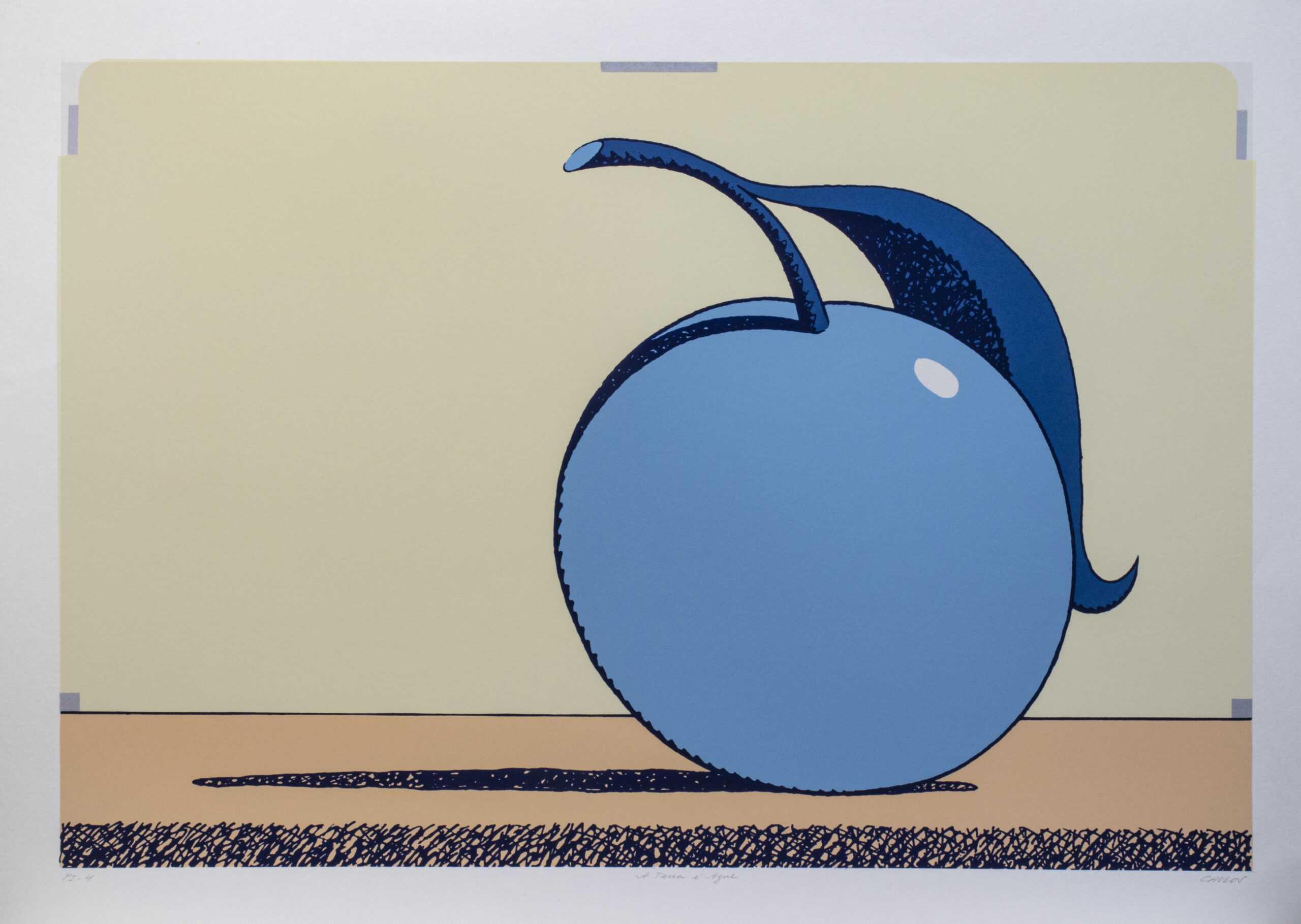 622 - Caulos - 50x70cm - Serigrafia (2)