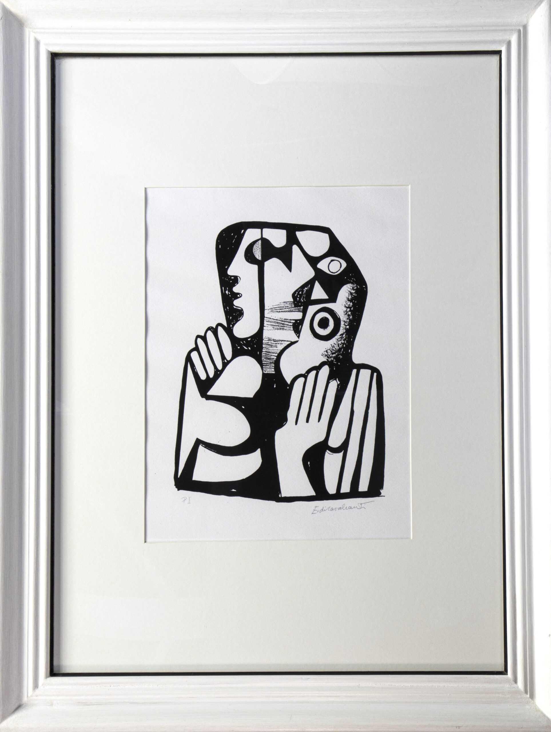 663 - Di Cavalcante - Serigrafia - 40x60cm