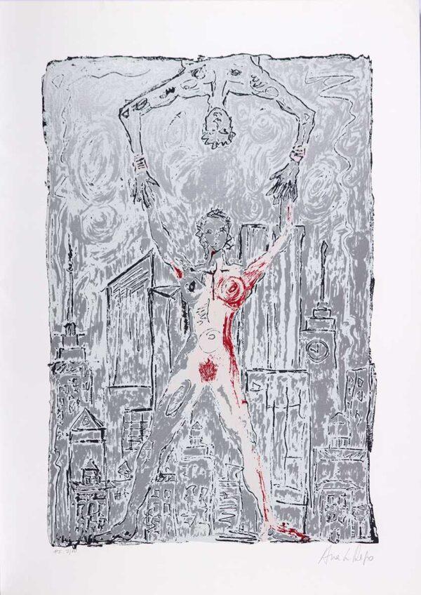 002 - Ana Luiza Rego, 50x70cm, serigrafia