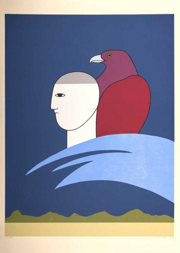 011 - Antonio Maia - 50x70cm - Serigrafia - 100