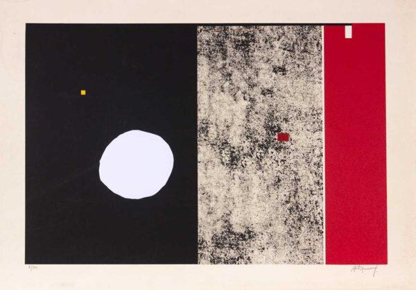 012 - Antonio Manuel 2 litografia e serigrafia tiragem de 30 exemplares 50x70cm ano2007