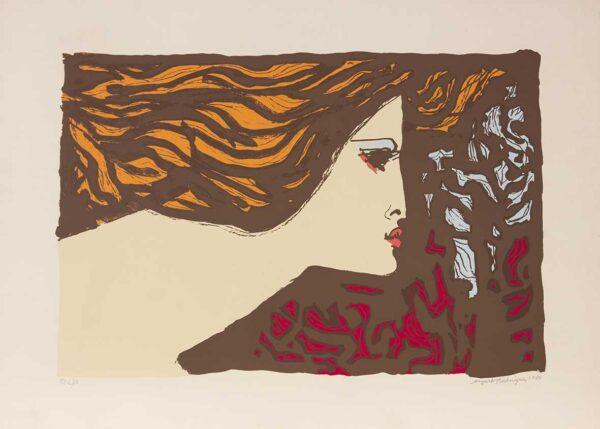 015 - Augusto Rodrigues - litografia 50x70cm ano 1984 tiragem de 100 exemplares .jpg