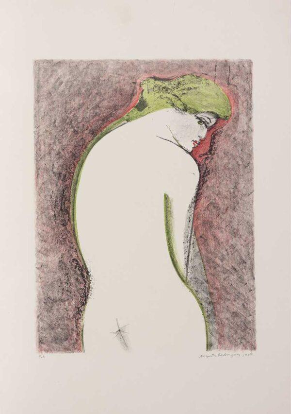 016 - Augusto Rodrigues - litografia 50x70cm ano 1987 tiragem de 100 exemplares .jpg