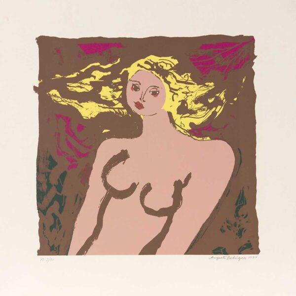 017 - Augusto Rodrigues - litografia 50x50cm ano 1984 tiragem de 100 exemplares .jpg