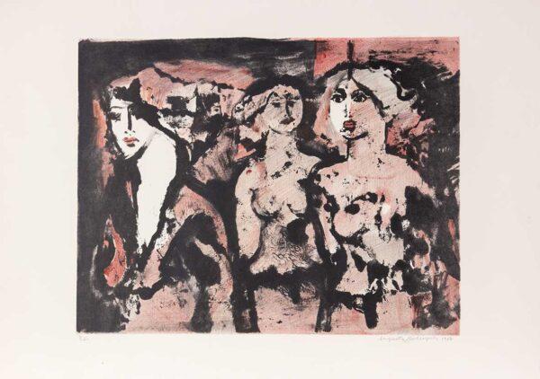 018 - Augusto Rodrigues - litografia 50x70cm ano 1987 tiragem de 100 exemplares 4 .jpg