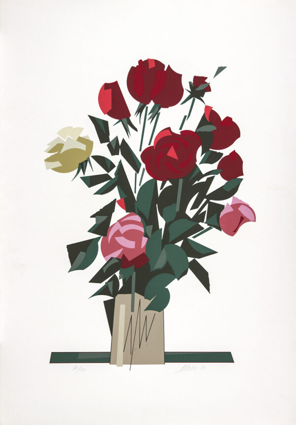 040 - Carlos Scilar - 90x60 - Serigrafia - ano 1991 - tiragem 120 (3)