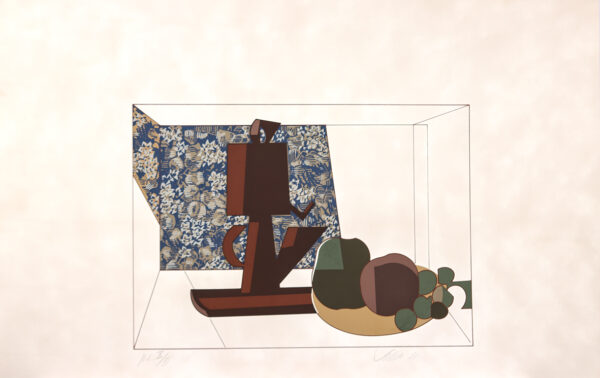 043 - Carlos Scilar - 90x55 - Serigrafia - ano 1989 - tiragem 120 (2)