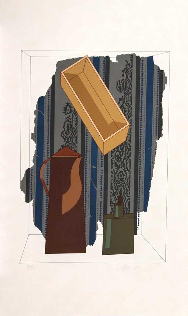 044 - Carlos Scilar - 90x55 - Serigrafia - ano 1989 - tiragem 120