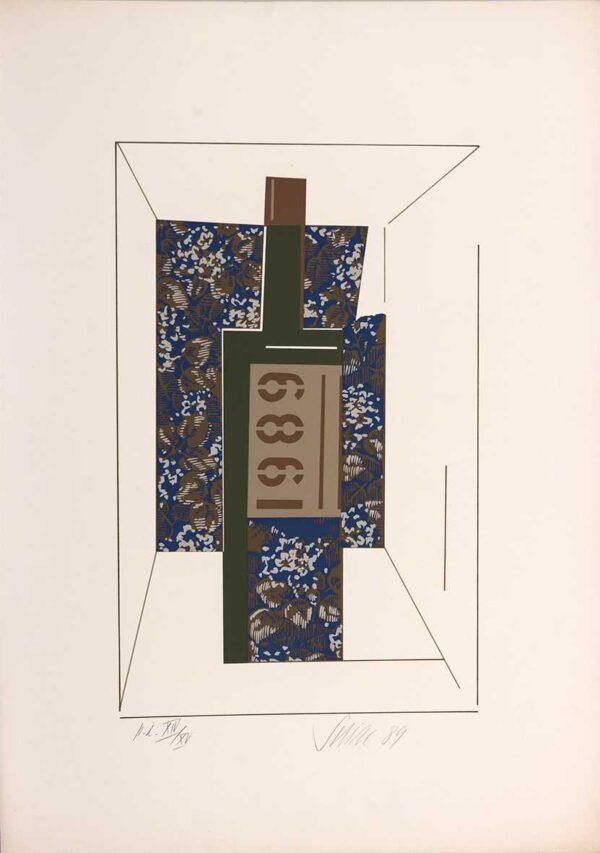 045 - Carlos Scliar - 48x66cm - Serigrafia - ano 1989 - Tiragem 120