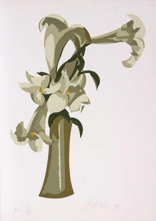 050 - Carlos Scliar - 50x70cm - Serigrafia - Ano 1999 - Tiragem 100 (8)