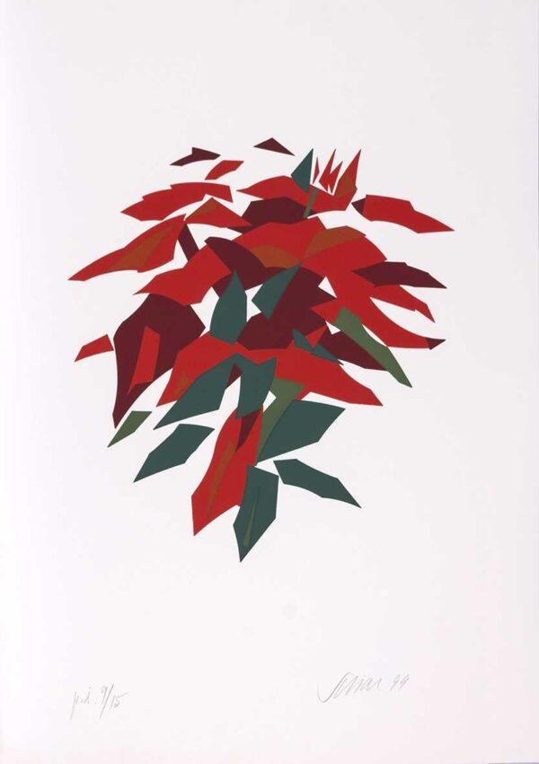 051 - Carlos Scliar - 50x70cm - Serigrafia - Ano 1999 - Tiragem 100 (7)
