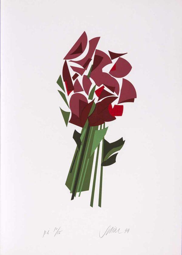 052 - Carlos Scliar - 50x70cm - Serigrafia - Ano 1999 - Tiragem 100 (2)